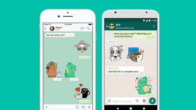 Fitur Baru Dari Whatsapp Yaitu Whatsapp Sticker