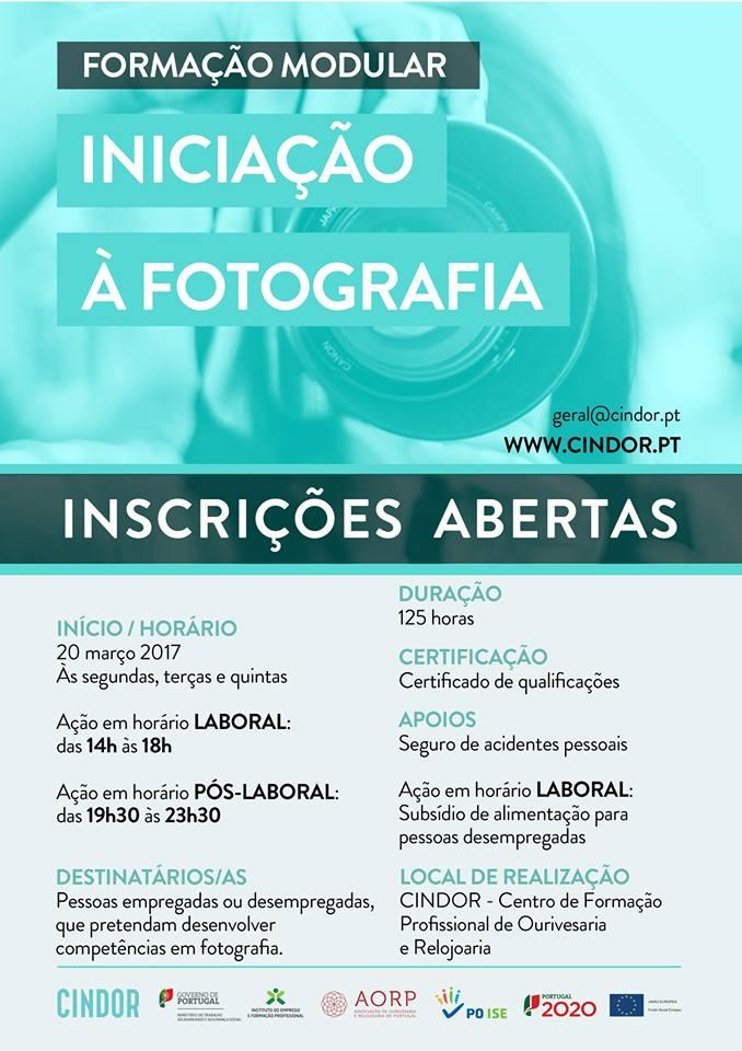 Curso grátis de Iniciação à Fotografia em Gondomar