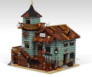 Old Fishing Store LEGO Ideas 2016 Finalist