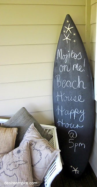 Everything Coastal 11 Ideas For Decorating With Surf Style