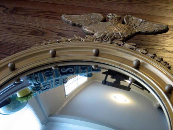 Port Hole Mirror : Remove the Eagle   DIY Playbook