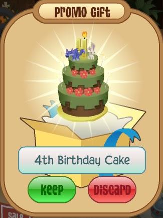 Code For Animal Jam First Birthday Cake