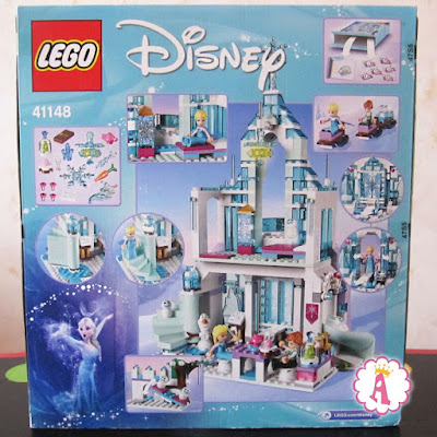 Коробка с конструктором Lego Disney Frozen Elsa's Magical Ice Palace 41148