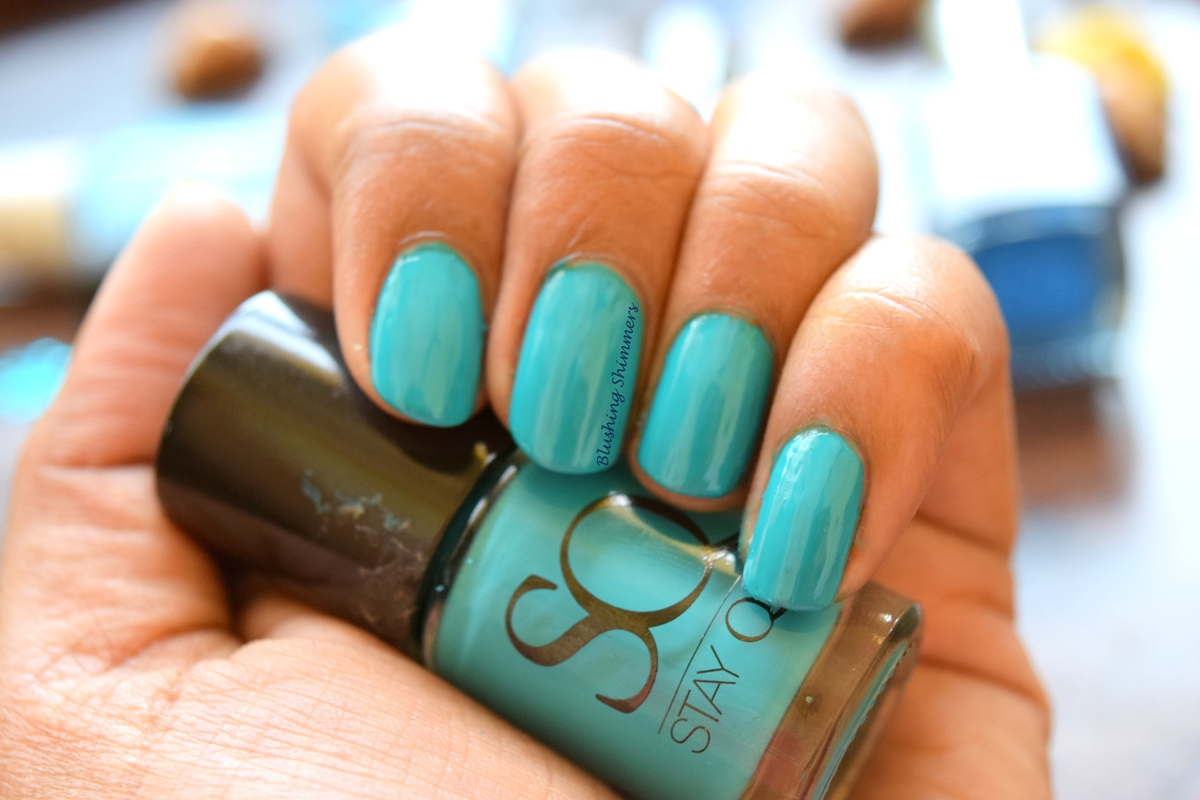 Stay quirky Nail Paint Bumble Blue. 452
