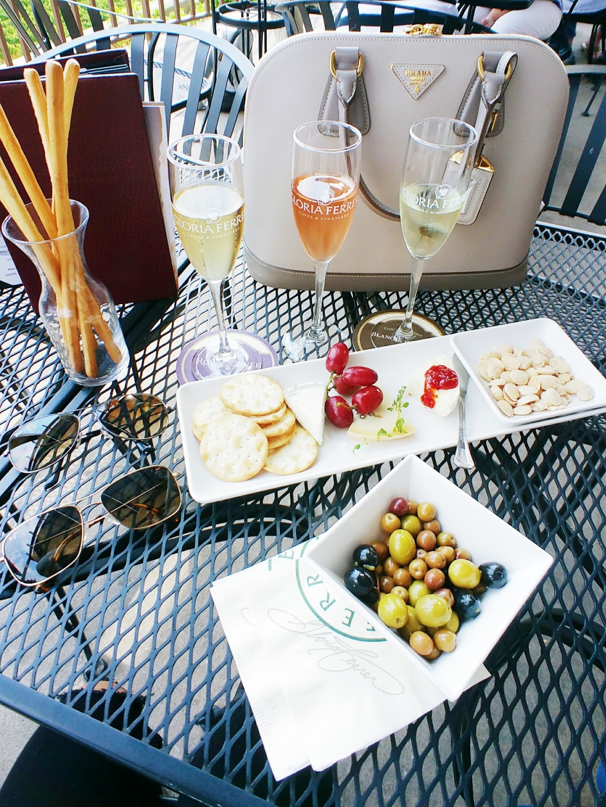travel with the tasteful me Gloria Ferrer in Sonoma, California