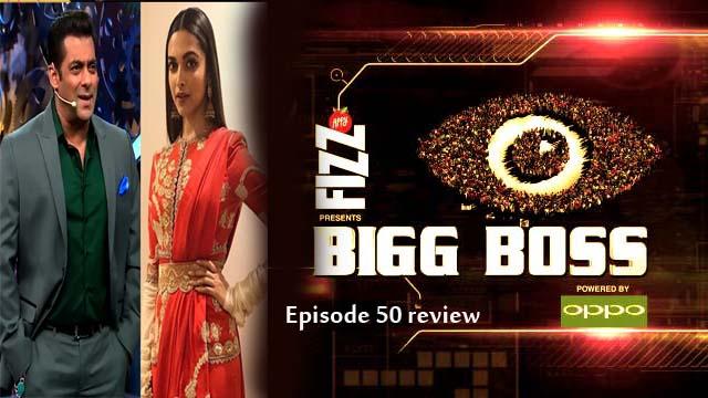Bigg Boss 11 2017 Episode 50 review