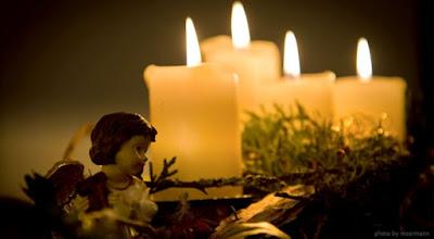 imagem da coroa do Advento - Natal