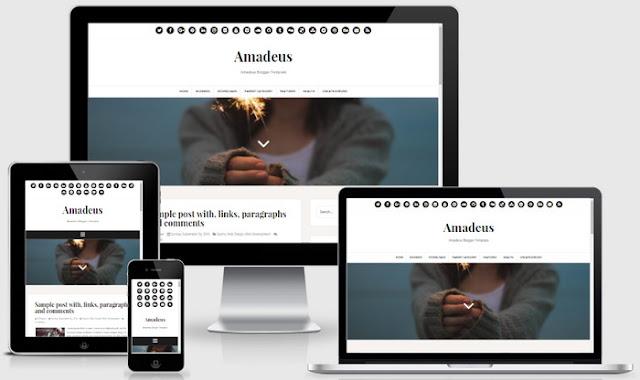 Amadeus Blogger theme