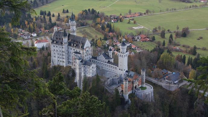 Wallpaper: Germany. Bavaria. Neuschwanstein Castle