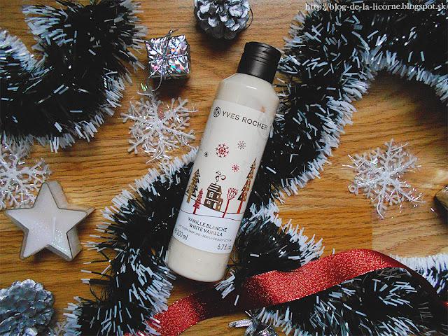 Vianočná kolekcia Yver Rocher telové mlieko