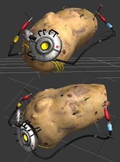Robot Dialogs Potato Glados Build Notes