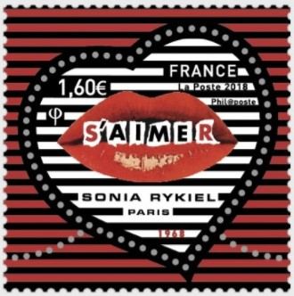 The Most Recent Stamps Issued Jan 12 Were Designed By Fashion House Founded In 1968 Sonia Rykiel 1930 2016