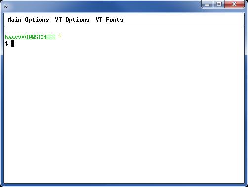 Tahir Hassan's Blog: Cygwin XTerm settings