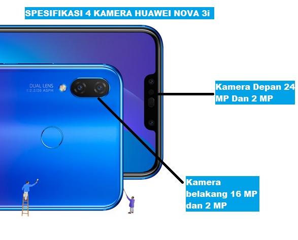 Huawei Nova 3i Smartphone Idaman 2018 Bagi Pilot Drone