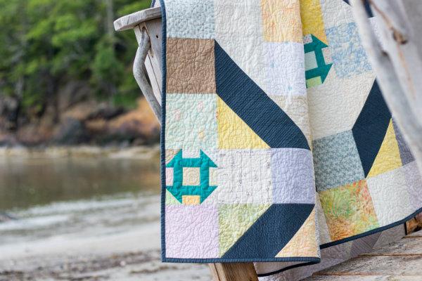 Churn quilt | DevotedQuilter.blogspot.com