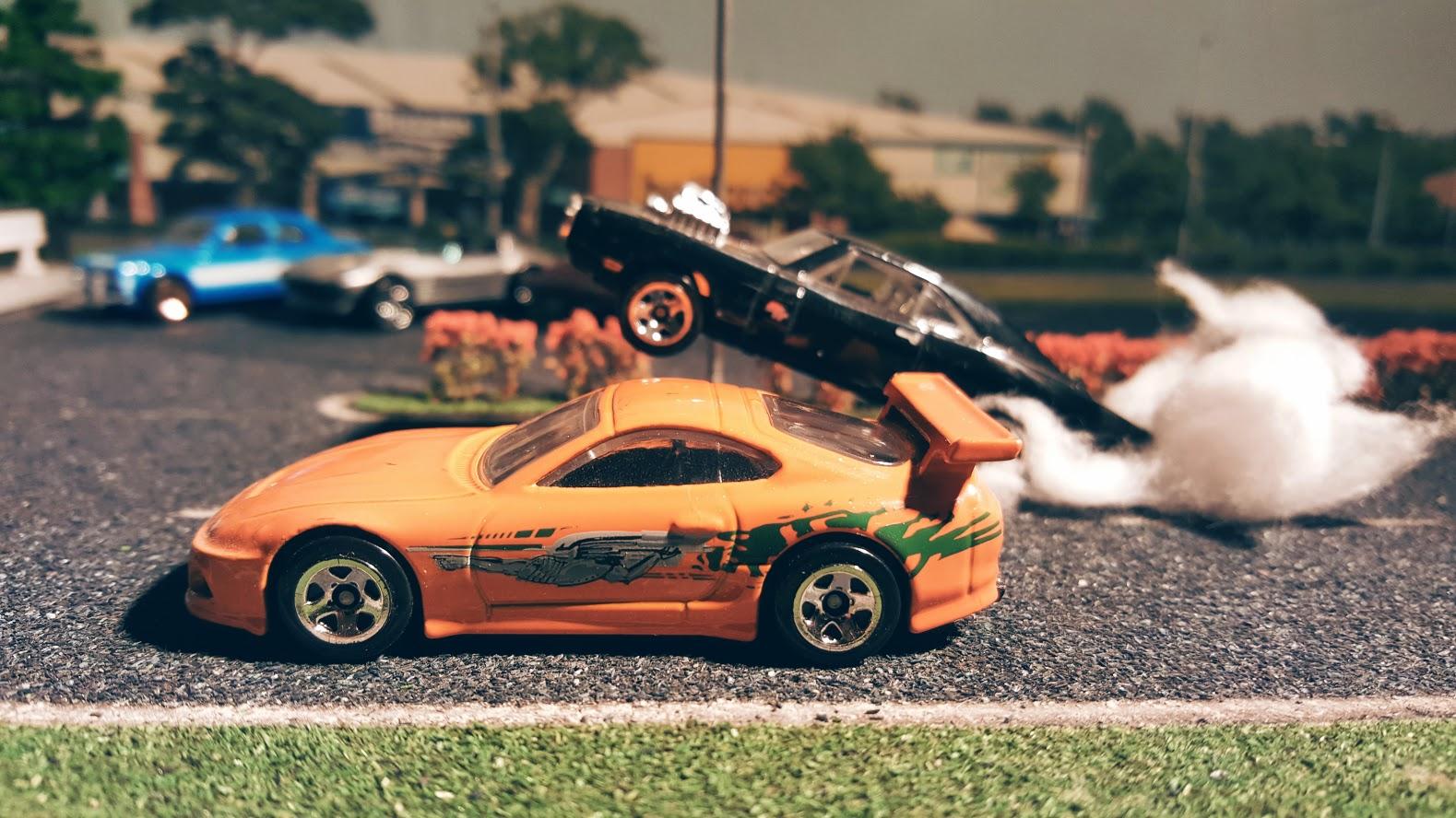 custom hotwheels  die cast cars fast  furious drag race   scale