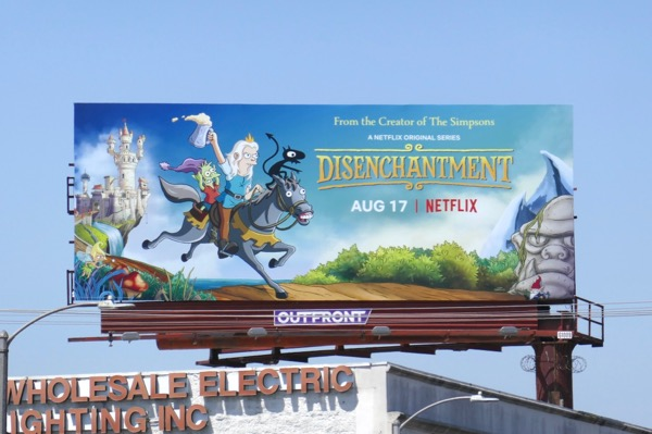 Disenchantment series premiere billboard