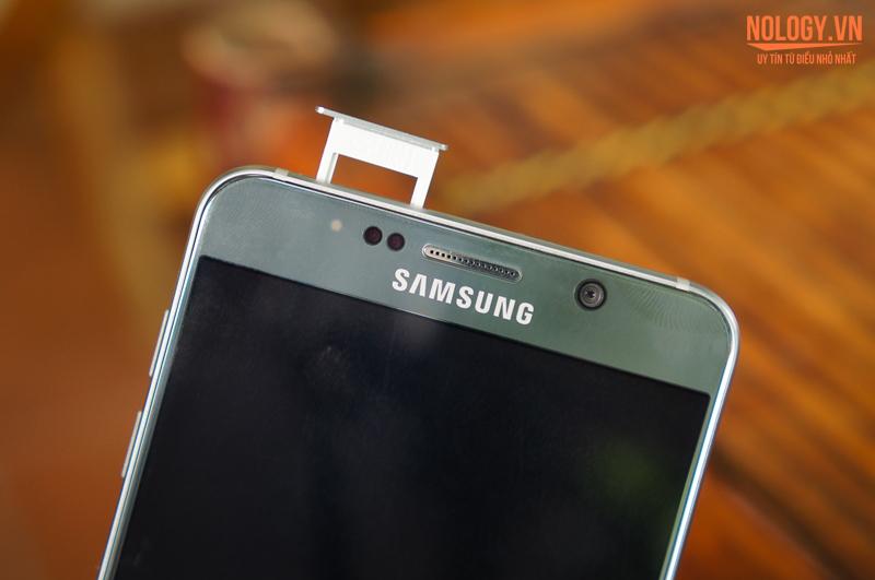 Thiết kế của Samsung galaxy note 5 2 sim