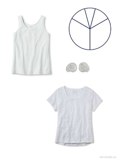 white additions to a warm-weather travel capsule wardrobe