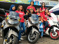 Yamaha NMAX Menjadi Idola Wanita