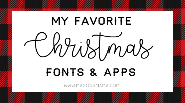 Hall Around Texas Christmas Fonts and Apps