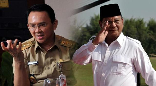 Pesan Prabowo ke Ahok agar Tidak Ditolak di Lokasi Kampanye