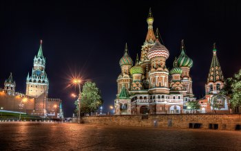Wallpaper: Moscow Architecture Red Square