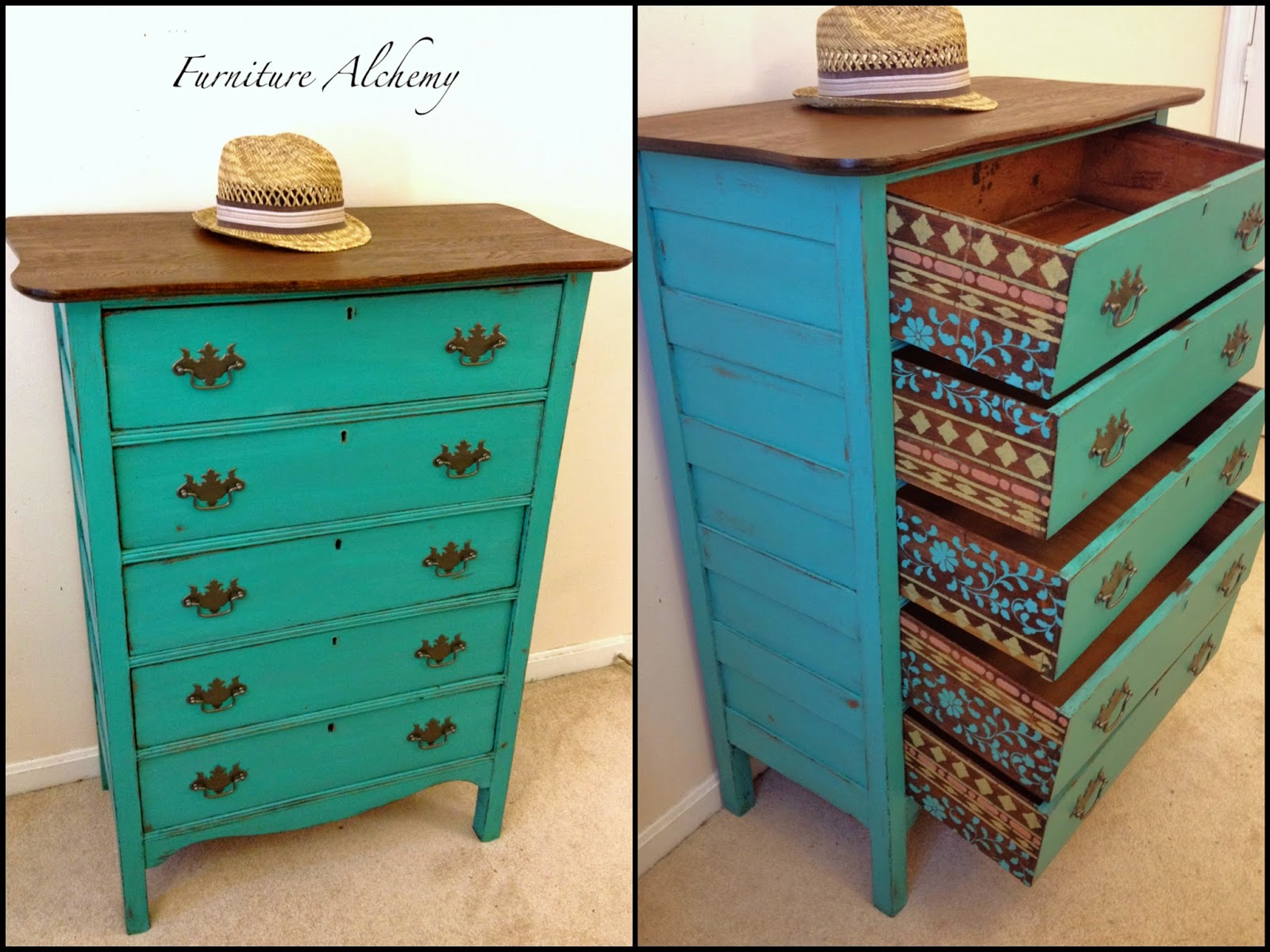 Here Are A Few Examples Of How Diffe Look Can Be Achieved By Mixing In Annie Sloan Chalk Paint Old White To Create More Turquoise Shade