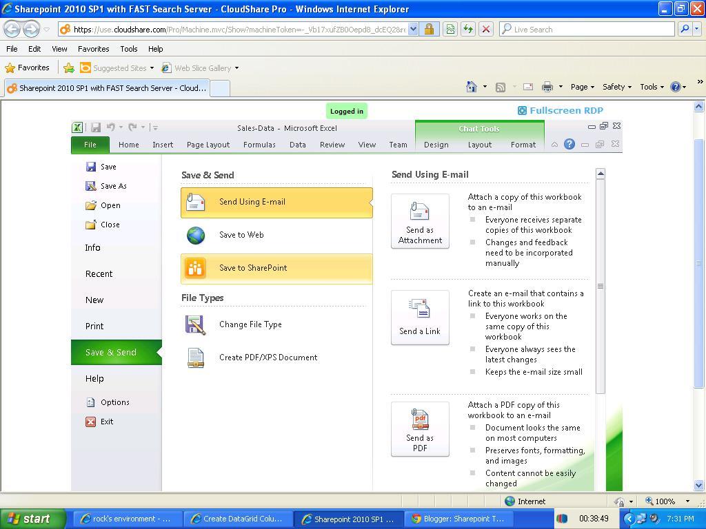 Workbooks shared workbook excel : Sharepoint Tutorials,Sharepoint 2010 Tutorials: Publish Excel ...