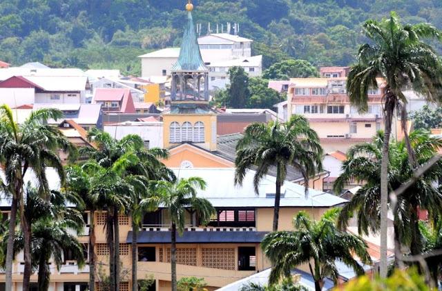 hoofdstad Cayenne, Frans-Guyana,