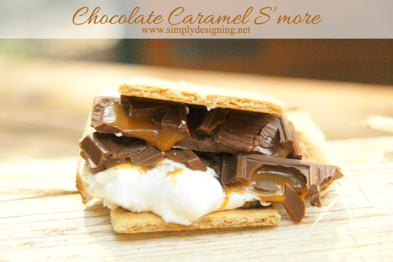 Chocolate Caramel S'more | you haven't eaten a smore until you've tried one of these!  These are amazing!  Definitely pin on your camping board for later!  | #smore #camping #recipe #dessert #camping #campkoa #ad