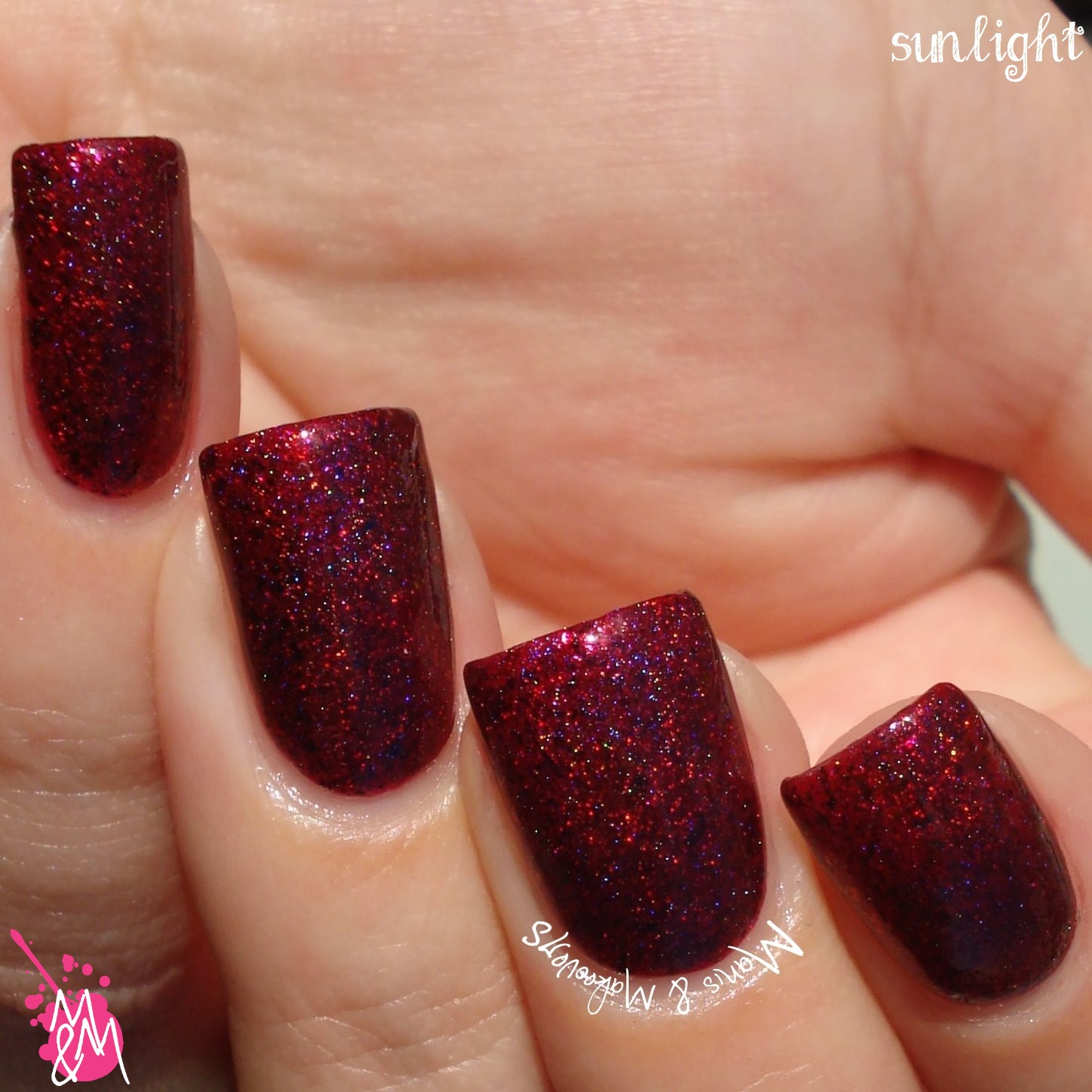 Manis & Makeovers: Ms. Sparkle November Duo