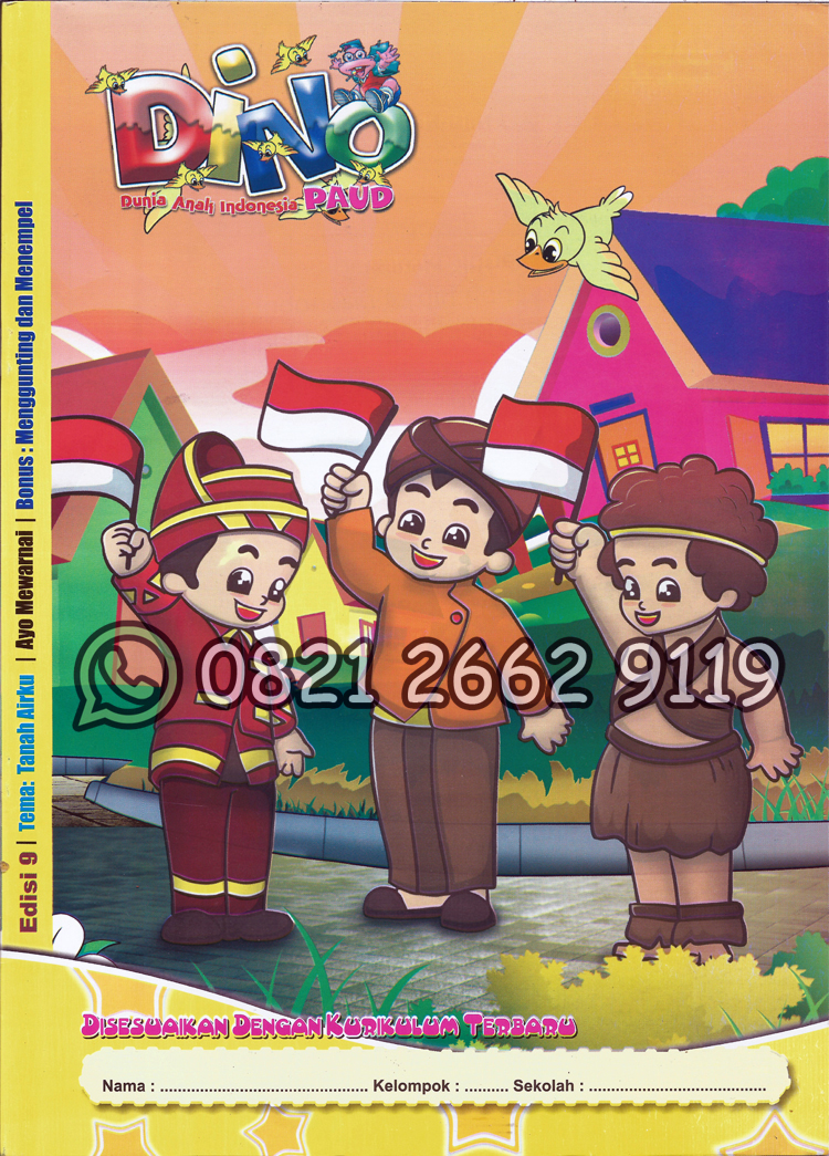 Majalah Play Group Tema Tanah Airku 2017 Citra Buku
