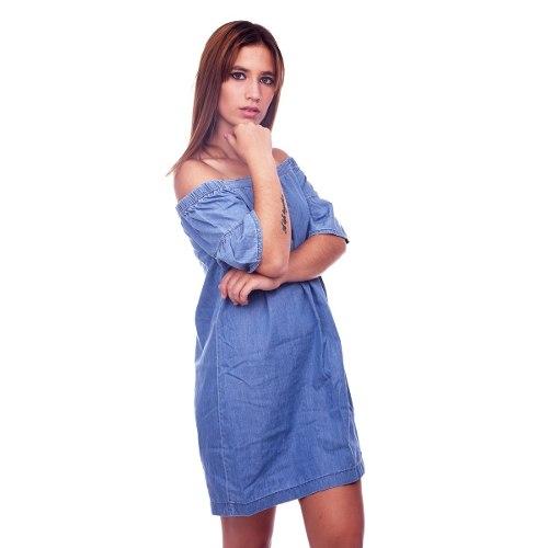 275df3fcc Customs Ba Vestidos Informales Cortos Vestido Mujer Jean - 2019 ...