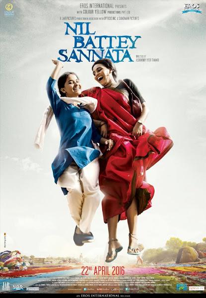 Poster Of Nil Battey Sannata 2016 720p Hindi DVDRip Full Movie Download