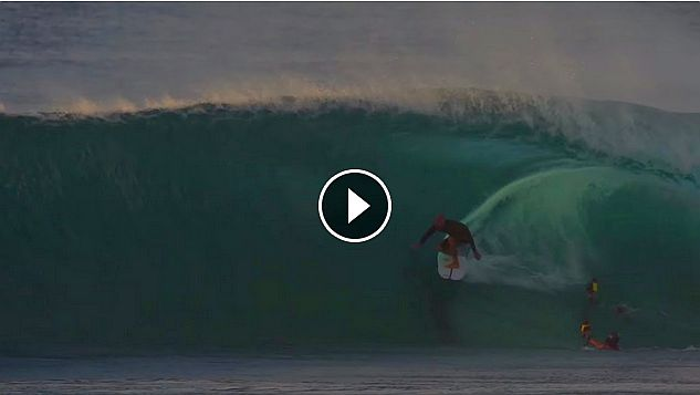 Kelly Slater at Backdoor Jan 8th 2018