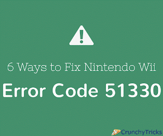 is an instance where the Wii console is unable to connect online 6 Ways to Fix Nintendo Wii Error Code 51330
