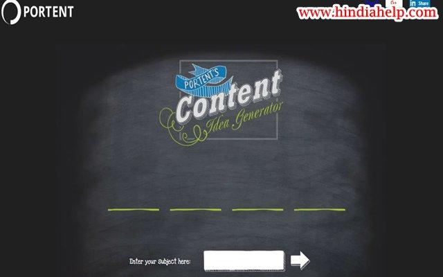 Best 5 Free Blog Title Generator Tools की जानकारी हिंदी में