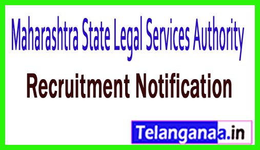 Maharashtra State Legal Services Authority MSLSA Recruitment