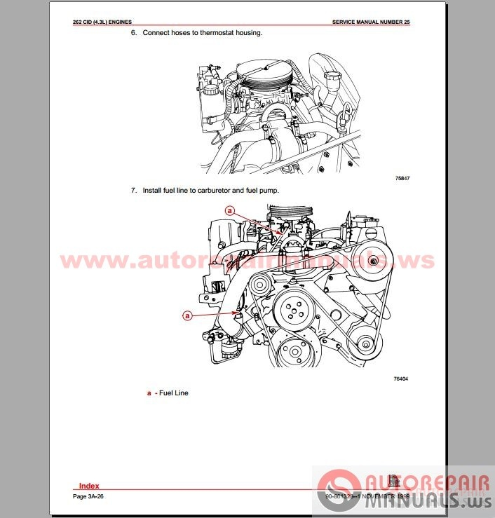 Free Auto Repair Manual : Mercury Mercruiser Marine