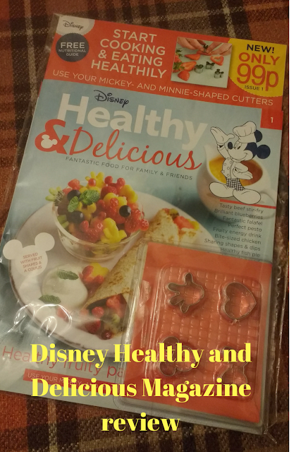 Disney Healthy and Delicious Magazine Review