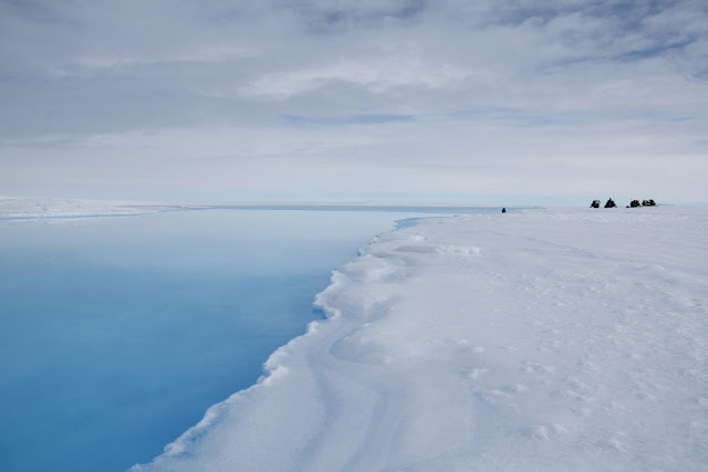 Mysterious 'crater' on Antarctica indication of vulnerable ice sheet