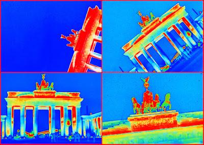 Brandenburger Tor - bunt