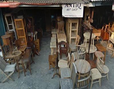 Salah Satu Toko Jual Furniture Antik Bekas Di Jakarta