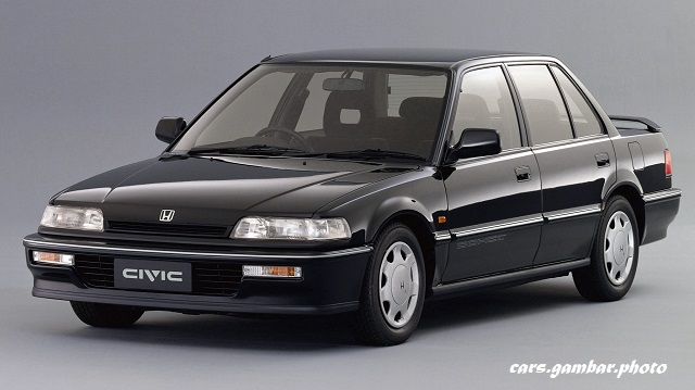 Honda Civic Si Sedan EF 1989-1991