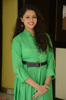 Geethanjali in Green Dress at Mixture Potlam Movie Pressmeet March 2017 089.JPG