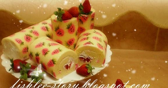 White Swiss Roll Cake Recipe