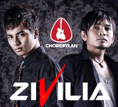 Lirik dan chord Cinta Pertama - Zivilia