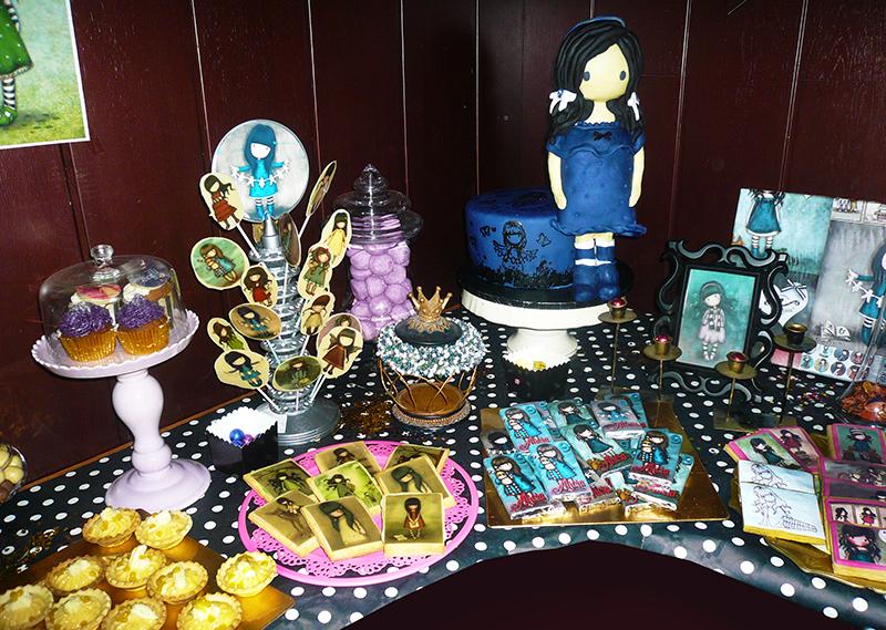 detalles y galletas cumplea os y mesa dulce gorjuss