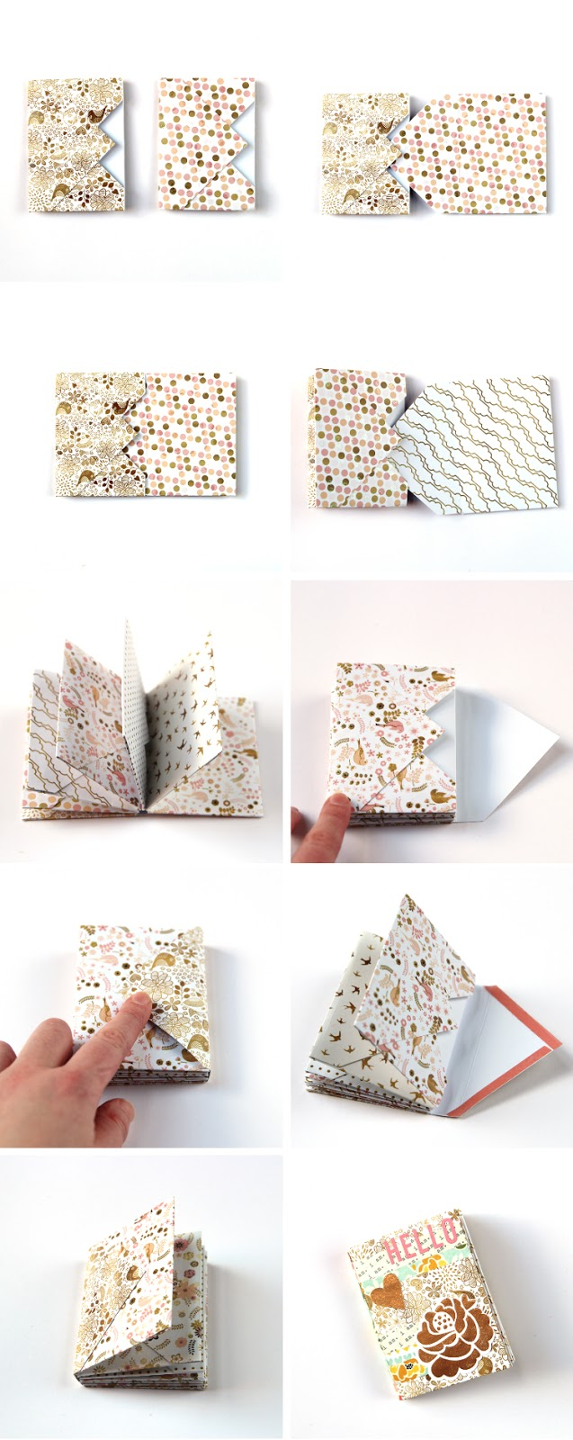 HOW TO MAKE A DIY MINI ENVELOPE ALBUM